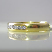 Irish Made Eternity Ring 18k
