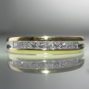 Diamond Eternity Ring 14k Gold