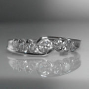 Seven Stone Diamond Ring, diamond ring, jewellers, jewellery shop, Galway, fine jewellery, diamond jewellery