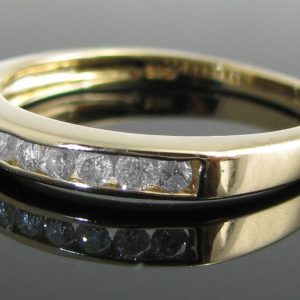 Diamond Eternity Ring in 9k Gold
