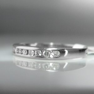 Diamond Eternity Ring 18k, Diamond Ring