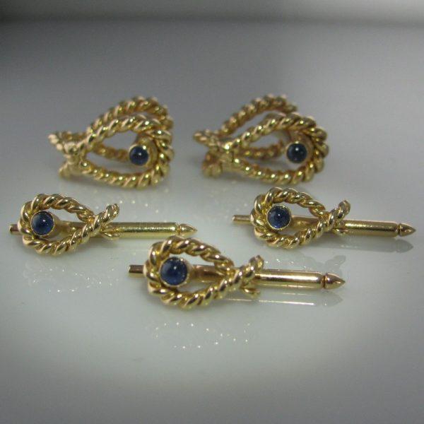 Tiffany & Co Dress Set in 14k - Sapphire Set