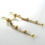 18k Gold Earrings, Gold earrings, Earrings, Fine Jewellery, Jewellery Shop, Jewellers, Galway