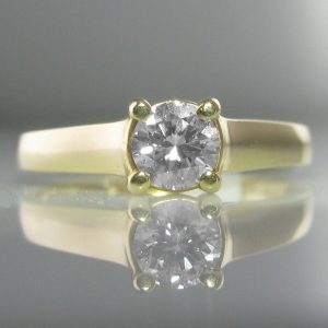 0.35ct Solitaire Diamond Ring