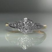 Edwardian Diamond Ring, Antique ring, Edwardian Ring, Galway