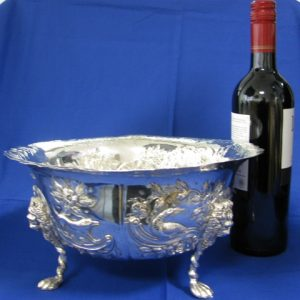 Silver Fruit Bowl