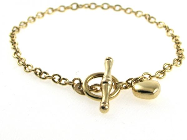 Charm Bracelet  in 9k Yellow Gold
