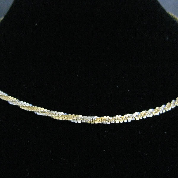14k Gold Twisted Rope Chain, Gold necklace, Necklace, Fine Jewellery, Jewellery Shop, Jewellers, Galway