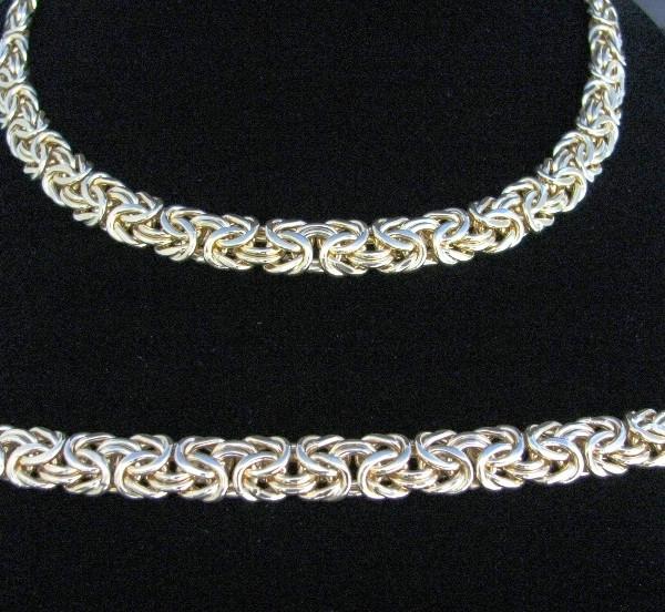 14k Gold Necklace and Bracelet Set, Gold necklace, Necklace, Fine Jewellery, Jewellery Shop, Jewellers, Galway, West of Ireland