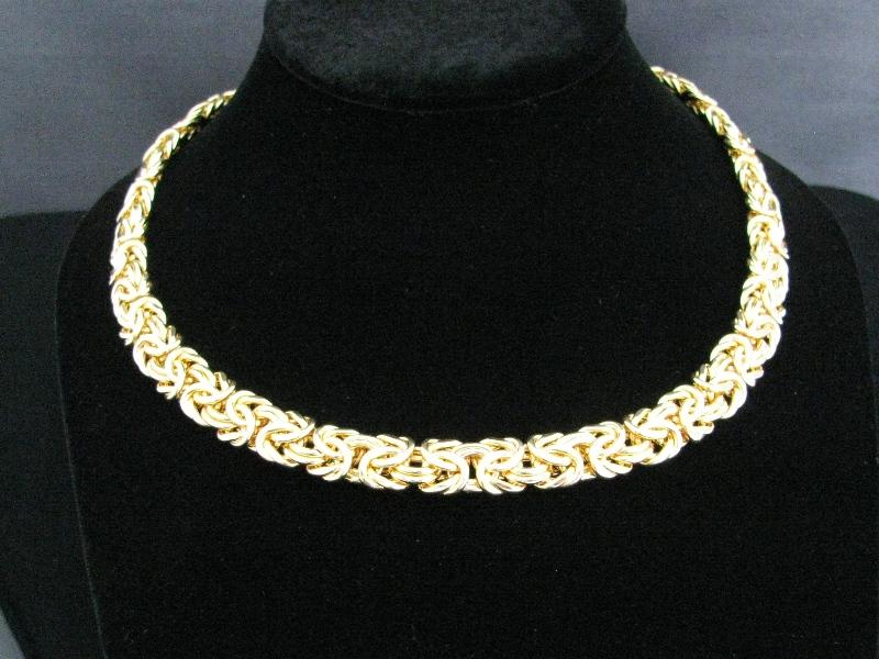 Sold 14k Gold Necklace And Bracelet Set