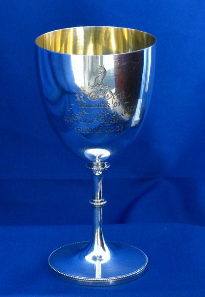 Silver Presentation Cup / Goblet