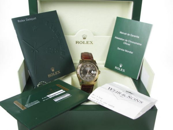 Rolex Datejust 116138 18K Yellow Gold