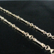 Victorian Guard Chain 9K Gold