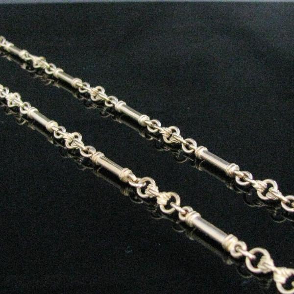 Victorian Guard Chain 9K Gold