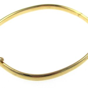 Timeless 18k Gold Bangle