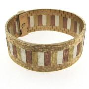 Vintage Multi Tone Gold Bracelet