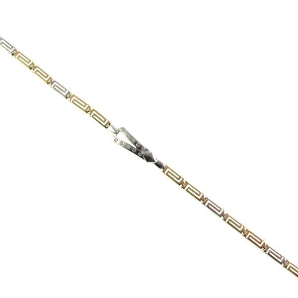 Gold Celtic Link Bracelet in 14k