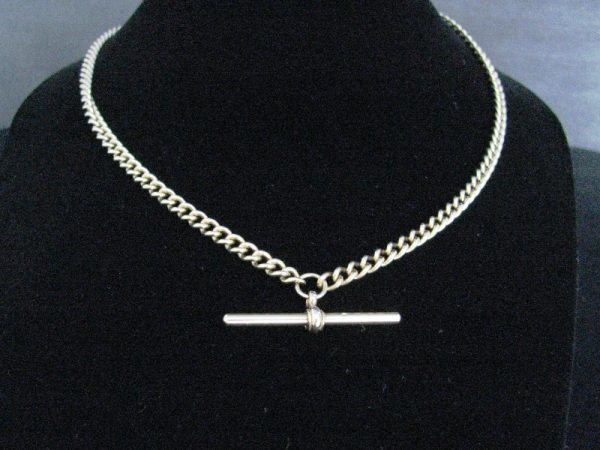 9k Gold Albert Chain with T Bar, Gold necklace, Necklace, Fine Jewellery, Jewellery Shop, Jewellers, Galway