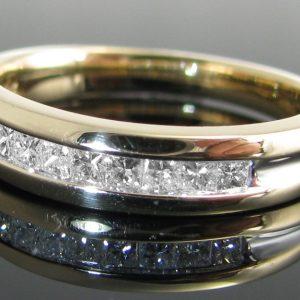 Diamond Eternity Ring 14k Gold