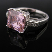 Pink Gemstone ring, Fine jewellery, Galway,