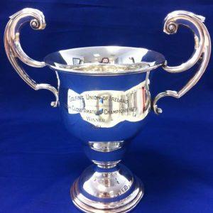 Silver Trophy Cup - Weir & Sons - Dublin 1951