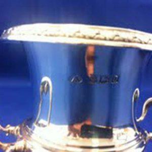 Silver Trophy Cup (Small) - Adie Brothers Ltd - Birmingham 1953