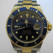 Rolex Submariner Blue 16613 18K Gold/Steel