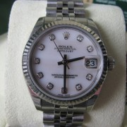 Ladies Rolex Diamond Datejust S/S 178274