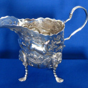 Antique Irish Silver Cream Jug
