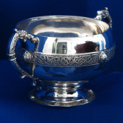 Irish Silver Sugar Bowl