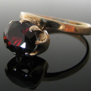 Irish Made Vintage Garnet Ring, Garnet Ring, Gold Ring, Fine Jewellery, Jewellery Shop, Jewellers, Galway