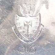 Silver Plates/Salvers (Pair)