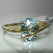 Topaz & Gold Ring