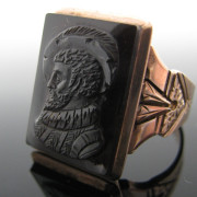 Victorian Gents 9K Rose Gold Ring