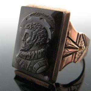 Victorian Gents 9K Rose Gold Ring