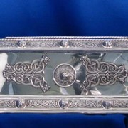 Irish Silver Jewellery Box