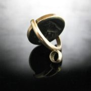 Gold Spinner Fob, Black Onyx, The Antiques Room, Jewellery, Antiques, Galway, West of Ireland