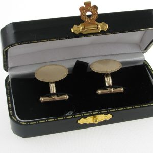 Gents 9k Gold Cufflinks - Irish Made