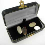 Gents 9k Gold Cufflinks Irish Made