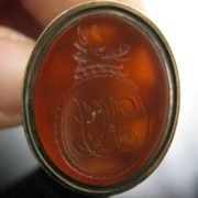 Boars Head Seal Fob, The Antiques Room, Jewellery, Antiques, Galway, West of Ireland