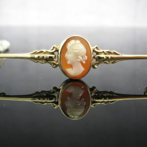 Irish Made 1960's Cameo Brooch