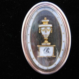 18th Century Mourning Brooch