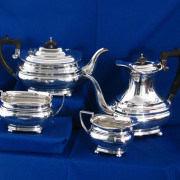 Art Deco Style Silver Tea & Coffee Service
