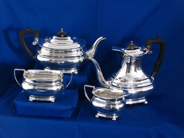 Art Deco Style Silver Tea & Coffee Service