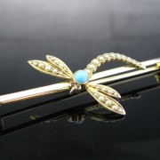 Victorian Dragonfly Brooch, Brooch, Brooches, Pin, Antique, Fine Jewellery, Jewellery Shop, Jewellers, Galway