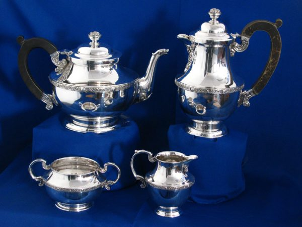 Irish Silver Tea & Coffee Service