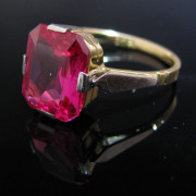 Ruby Ring, Vintage Ruby Ring, Fine Jewellery, Jewellery Shop, Jewellers, Galway