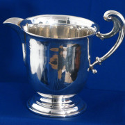 Irish Silver Cream Jug