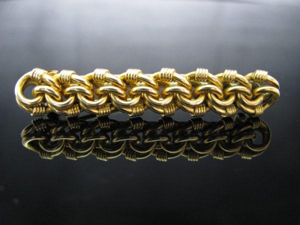 Victorian 15k Gold Brooch