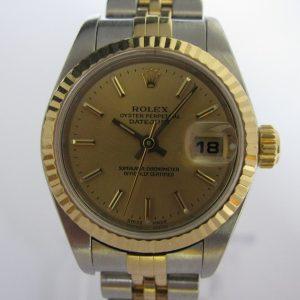 Ladies Rolex Datejust 79173 18K Gold/Steel